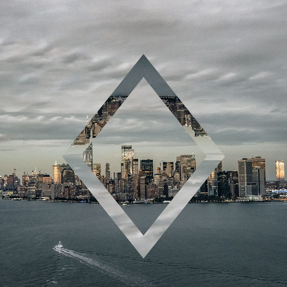 Geometric Reflections – Diamond example