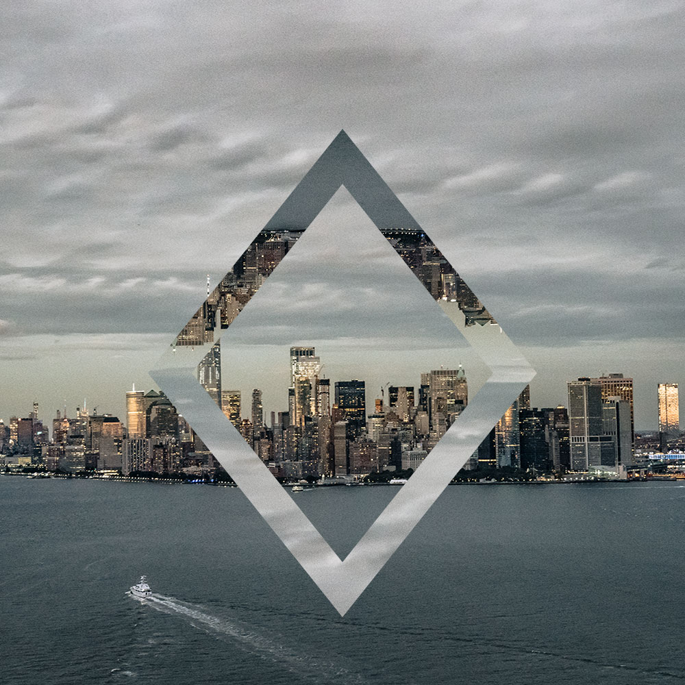 Geometric Reflections – Diamond example